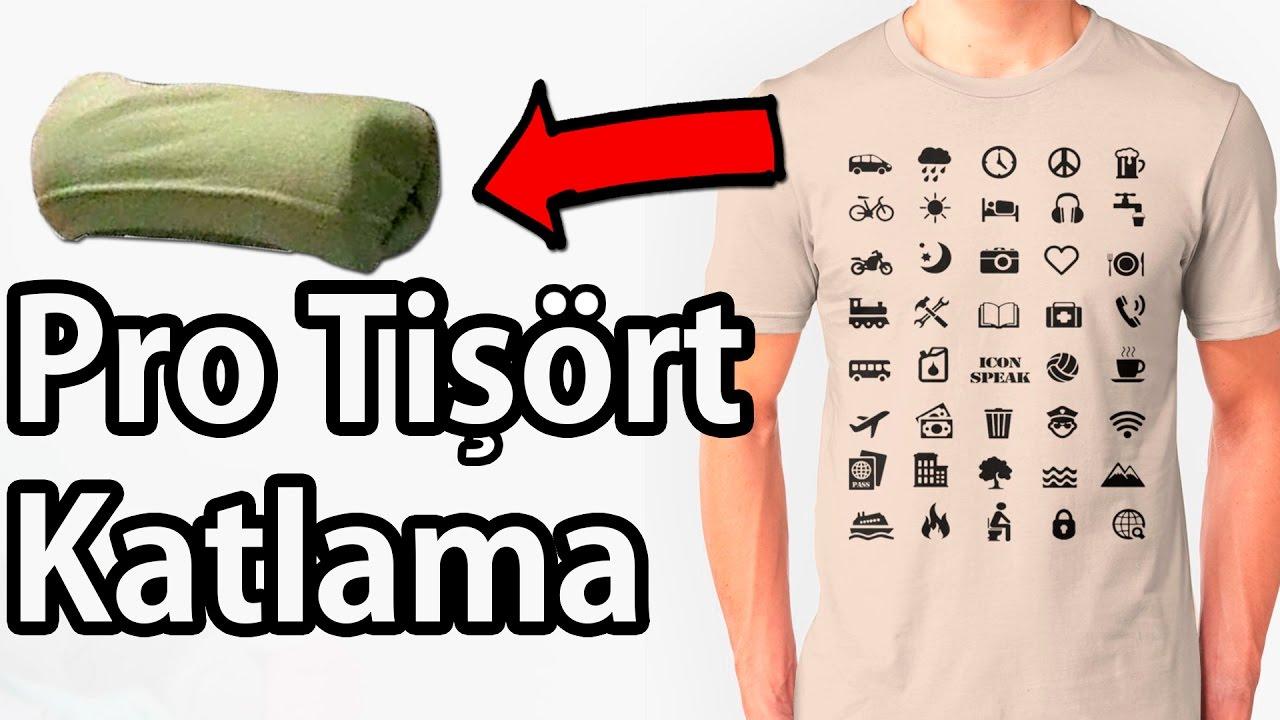 Bu T-Shirt Katlama Tekniği Çok İşinize Yarayacak