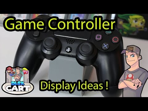 Game Controller Display Ideas for a Game Collection !