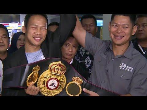 Daud Yordan Gelar WBA Asia & WBO Intercontinental