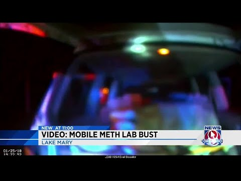 New video released in mobile meth lab bust
