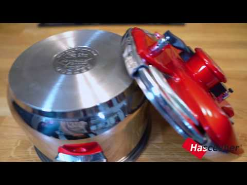 Hascevher Galaxy Matic Pressure Cooker Introduction Film