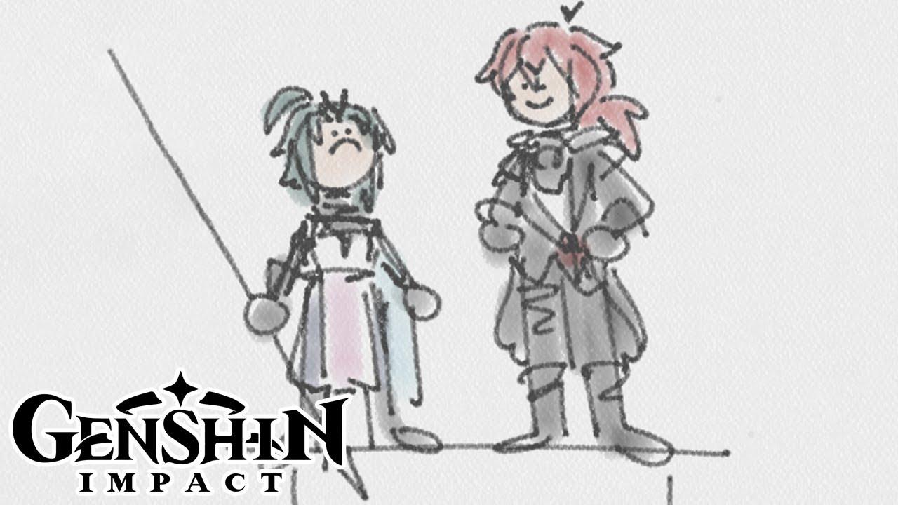 Tall [Genshin Impact Comic Dub]