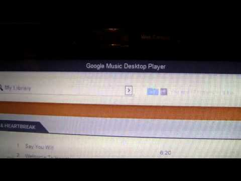 Google Music Beta Desktop App for Windows 7