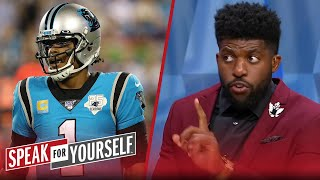 Cam needs to earn his respect back, talks Jerry Jones-Dak dilemma — Acho | NFL | SPEAK FOR YOURSELF