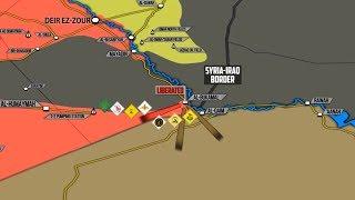 9 ноября 2017. Военная обстановка в Сирии. Взят последний крупный населенный пункт ИГИЛ в Сирии.