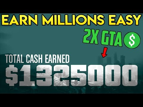 GTA Online - MAKE MILLIONS THIS WEEK EASY! DOUBLE GTA$ MISSION PLAYLISTS!