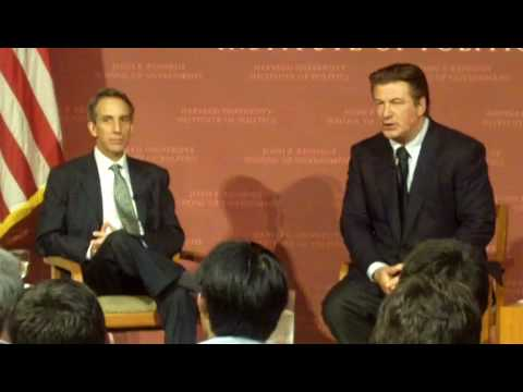 Alec Baldwin at Harvard: On sleeping with JFK