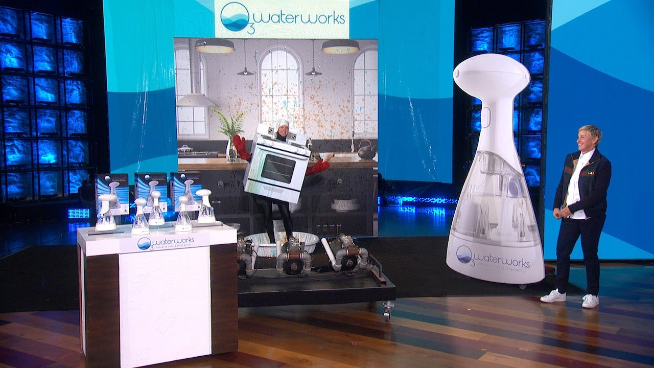 Ellen Gets 'Andy the Oven' Sparkling Clean