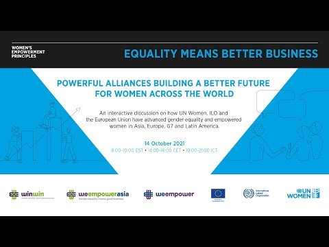 Powerful alliances building a better future for women across the world