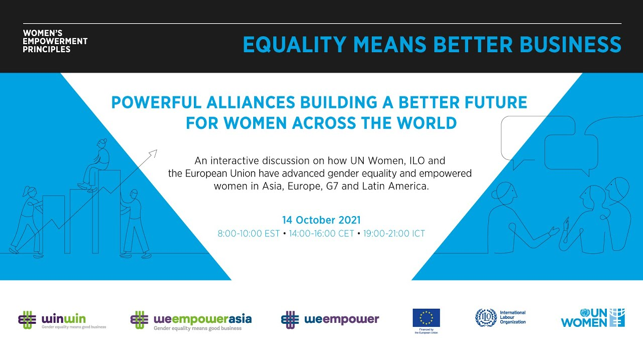 Powerful alliances building a better future for women across the world  - 22:55-2021 / 10 / 11