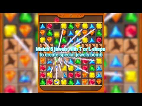 Jewel Fever - Jewel Match 3 Game Official Trail