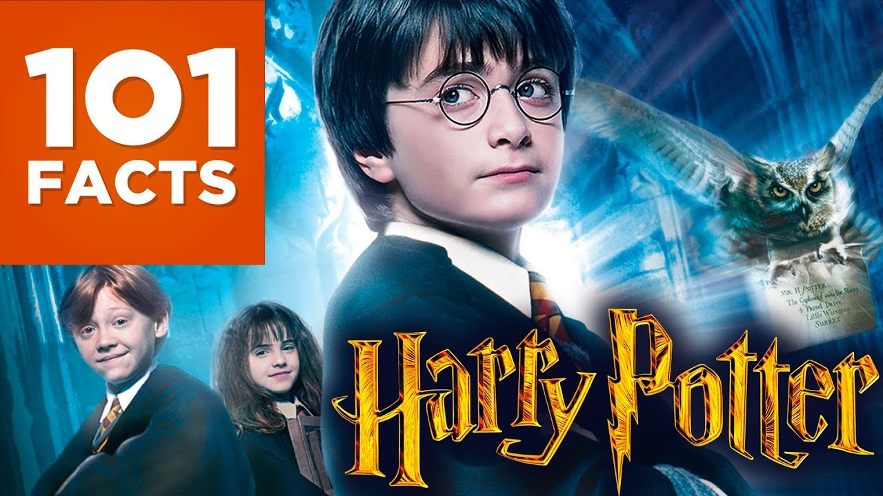 101 Facts About Harry Potter Youtube