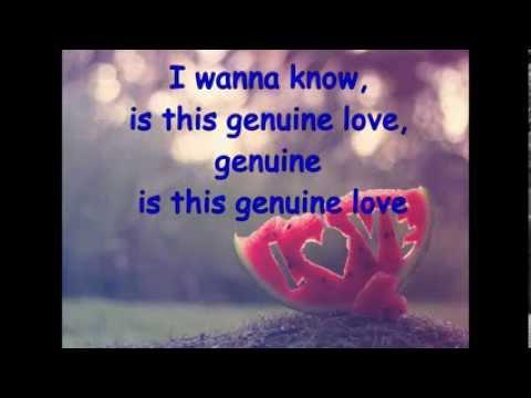 genuine love w/ lyrics by kolohe kai (official mp3 music)