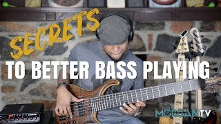 SECRETS TO BETTER BASS PLAYING - Jermaine Morgan TV