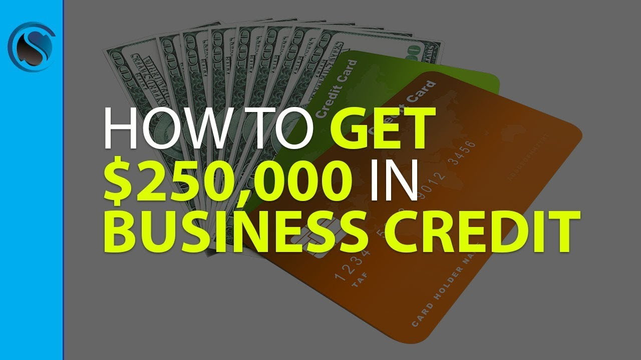 How to get 250000 in business credit youtube how to get 250000 in business credit magicingreecefo Gallery