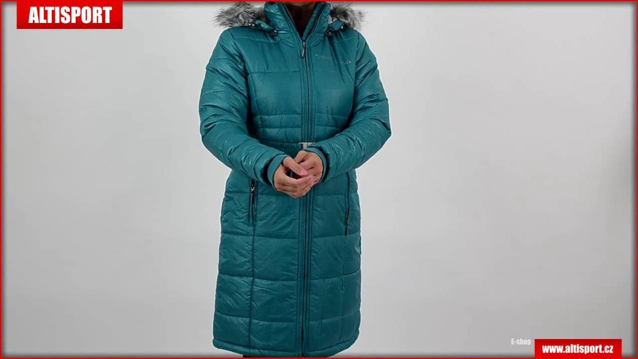 10cd81e8f2f dámský kabát alpine pro therese zelená - YouTube