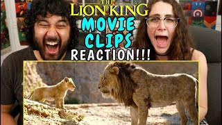 THE LION KING | Movie Clips - REACTION!!!