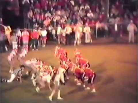 1989 Poteau Pirates at Stilwell Indians Football