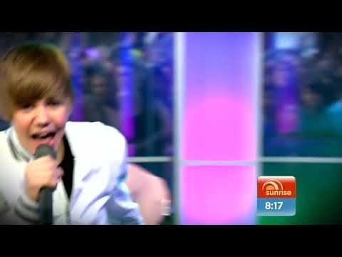 Justin Bieber in Australia on Sunrise in HD (Australia)