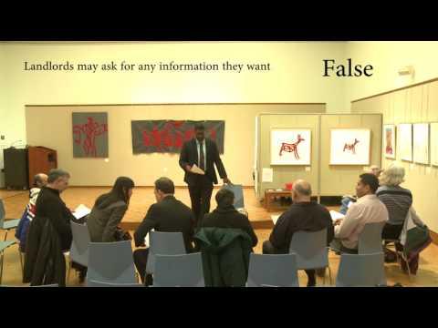 Fair Housing Law Training