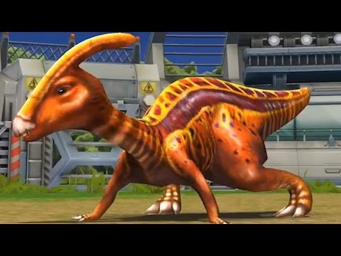 Jurassic Park Builder: Parasaurolophus [BATTLE] [FINAL EVOLUTION]