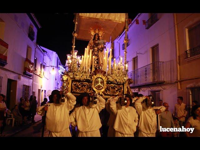 Vídeo: Procesión de la Virgen del Carmen en Lucena