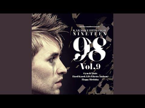 Happy Birthday (In the Style of DJ Bobo) (Karaoke Version)