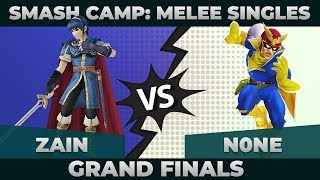 Zain vs n0ne - GRAND FINALS: Melee Singles Top 48 - Smash Camp 2019 | Marth vs Captain Falcon