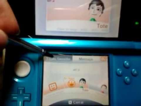 como agregar a lista de amigos en una Nintendo 3ds