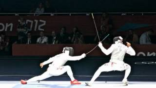 FENCING IMAGES FROM THE OLYMPIC GAMES 2 Medium