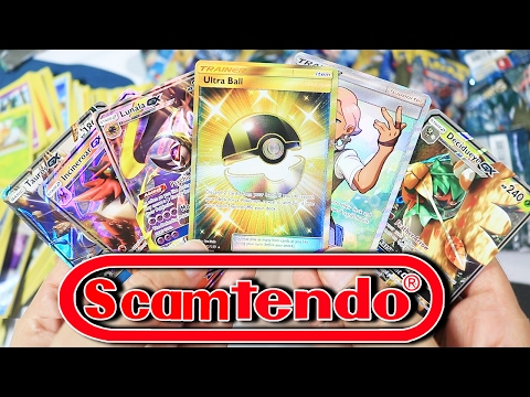 HOW TO SCAM ULTRA RARE EVERY SINGLE PACK - DO NOT BUY SUN & MOON - ALL BOXES ARE MAPPED