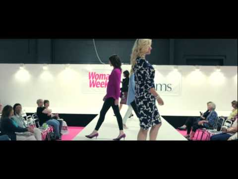 JD Williams AW14 Fashion | Catwalk Show at Woman's Weekly Live