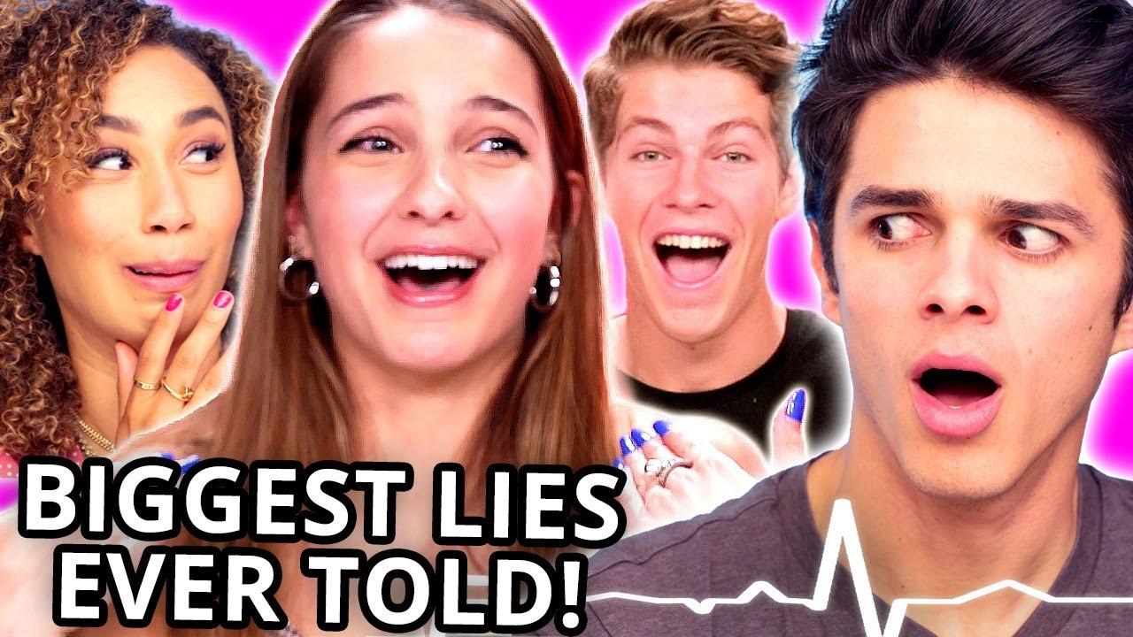 TOP LIE DETECTOR FAILS Compilation w/ Brent Rivera, Lexi Rivera, Ben Azelart, Eva Gutowski, MORE
