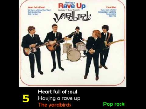 1965  Top 10 Rock songs