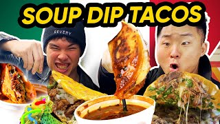 The TACOS YOU NEED TO TRY!! (Birria Soup Tacos!) | Mexican Food