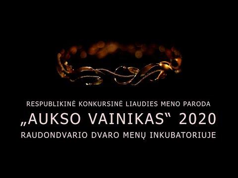 """""""AUKSO VAINIKAS"""" 2020"""