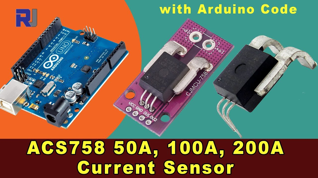 Effect Current Sensing On Linear Hall Sensor Circuit Using Allegro Acs758 With Arduino For 50a To 200a