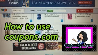 How to print coupons from coupons.com