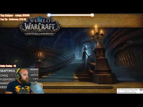 Battle for Azeroth (Beta): Waycrest Manor Dungeon - WoW Level 120 Arms Warrior Gameplay