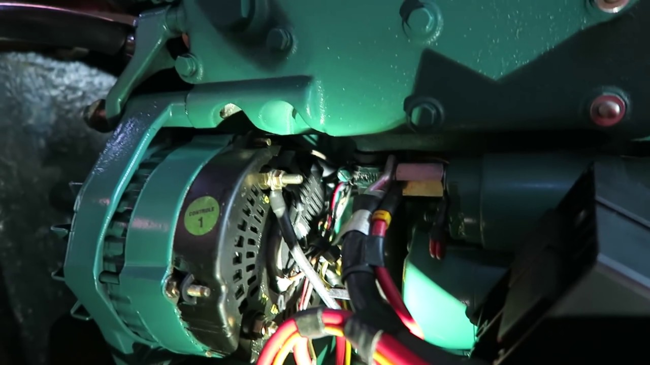 Volvo Penta Md2020 Heat Exchanger Project Part 5 Mounting
