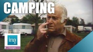 Camping en ville à Melun - Archive vidéo INA
