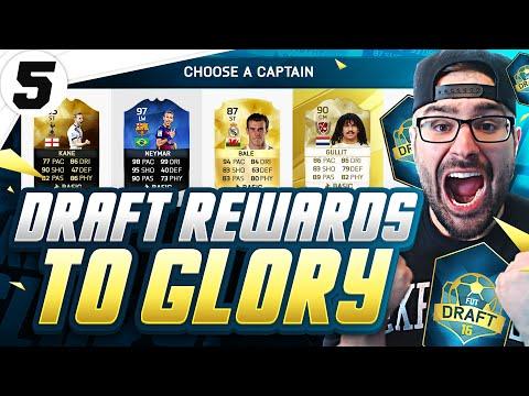 WTF DRAFT PACK KING!! BEST FUT DRAFT REWARDS! - FIFA 16 Ultimate Team #05