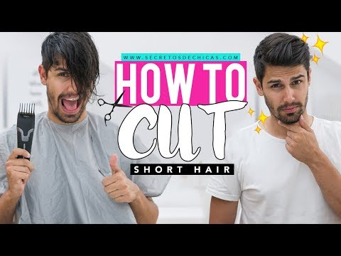 HOW TO CUT SHORT HAIR | Haircut For Men