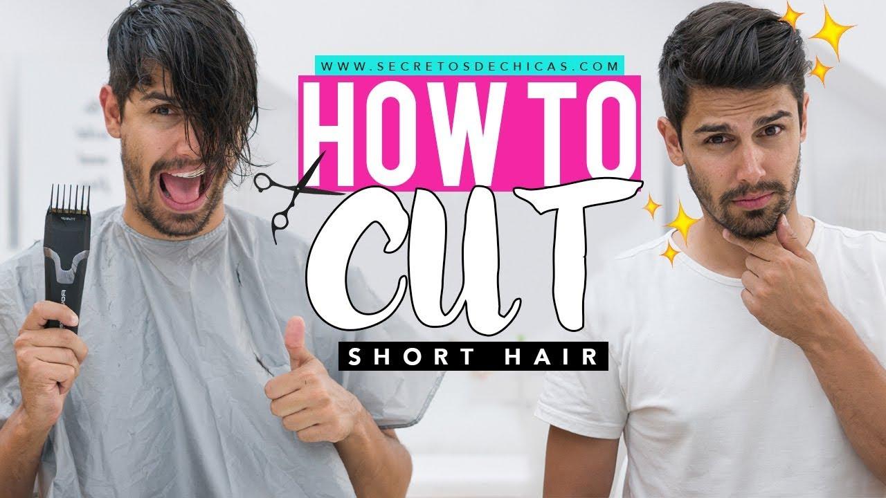 HOW TO CUT SHORT HAIR  Haircut for men