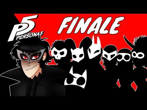 OUR JOURNEY COMES TO AN END  Persona 5  FINALE