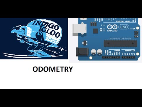 ROS Odometry example using ROSSerial Arduino by Kiran Pattanashetty on YouTube