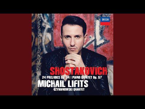 Shostakovich: Twenty-Four Preludes, Op.34 - No.22 In G Minor - Adagio