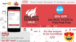 Free Offer book Bus Tickets   How to book Bus Tickets online in India  Redbus Tickets booking online