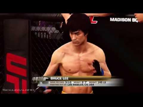 Bruce Lee Vs Edward Reynolds - EA Sports UFC Xbox One Gameplay W/ SICK Featherweight