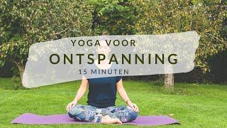 Yoga voor ontspanning